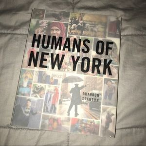 """""""Humans of New York"""" Hardcover"""